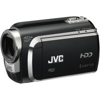 JVC Everio GZ-HM200 Dual SD High-Def Camcorder  Red