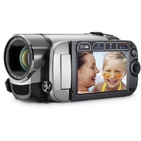 Canon FS200 6 8MP Silver Digital Camcorder