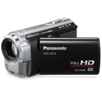 Panasonic HDCSD10K SD Card High Definition Camcorder - Black