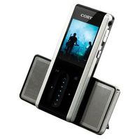 Coby Coby MP3 MP4 FM Player with Speakers 4GB - Black  MP735-4GBLK