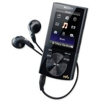Sony E340 Walkman NWZ-E344 8GB Black MP3 Player