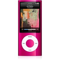 Apple iPod nano 5th Generation 16GB Pink MP3 Player  2 2  LCD  Flash Drive  5 Hours Video  24 Hours Audio