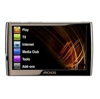 Archos 5 16GB Black MP3 Player  4 8  LCD  Flash Drive  FM Tuner  7 Hours Video  22 Hours Audio