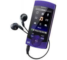 Sony Walkman NWZ-S544VLT 8GB Violet MP3 Player  2 4  LCD  Flash Drive  FM Tuner  6 5 Hours Video  42 Hours Audio