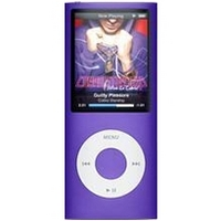 Apple iPod nano 5th Generation 8GB Purple MP3 Player  2 2  LCD  Flash Drive  5 Hours Video  24 Hours Audio