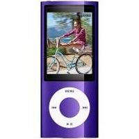 Apple iPod nano 5th Generation 16GB Purple MP3 Player  2 2  LCD  Flash Drive  5 Hours Video  24 Hours Audio