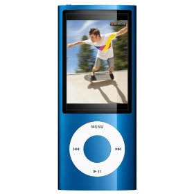 Apple iPod nano 8GB MP3 Player - Blue  Internal Flash Drive  24 Hours