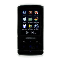 Samsung Q2 Black 8GB Flash MP3 Player - YP-Q2JCB