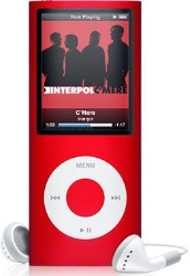 Apple iPod nano Special Edition 2nd Generation 4GB MP3 Player - Red  Internal Hard Drive  24 Hours