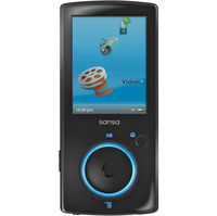 SanDisk Sansa View 32GB MP3 Player - Black  Internqal Flash Drive  FM Tuner  35 Hours