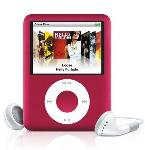 Apple iPod nano Special Edition 2nd Generation 8GB MP3 Player - Red  Internal Flash Drive  24 Hours