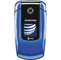 Samsung SGH-a167 Blue Cell Phone