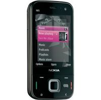 Nokia N85 Black Smartphone  GSM  Bluetooth  5MP  78MB  microSD Slot