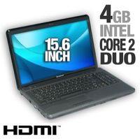 Lenovo G550 2958-3AU Laptop Computer - Intel Pentium T4200 2 0GHz 4GB DDR3 320GB HDD DVDRW 15 6 Disp