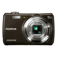 Fujifilm F200EXR FinePix Digital Camera  12MP  5x Zoom  Black