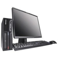 Lenovo ThinkCentre M58p Tower Core 2 Duo E8400 3 0GHz 6MBL2 1GB 160GB DVD-ROM GigNIC VB w vPro
