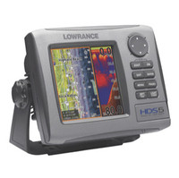 Lowrance HDS-5 BAJA GPS - 140-26