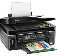 Epson WorkForce 610 All-in-One Inkjet Printer  38 PPM  5760x1440 DPI  Color  PC Mac