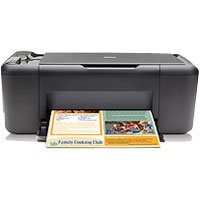 HP  Hewlett-Packard  Deskjet F4480 All-in-One Printer  28 PPM  4800x1200 DPI  Color  16MB  PC Mac