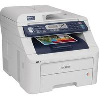 Brother MFC-9320CW All-in-One LED Printer  17 PPM  600x2400 DPI  Color  64MB  PC Mac
