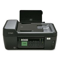Lexmark Prospect Pro205 All-in-One Inkjet Printer  33 PPM  4800x1200 DPI  Color  64MB  PC Mac
