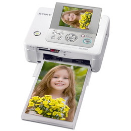 Sony DPP-FP97 Picture Station Photo Printer with Built-in 3 5-Inch LCD Tilt-Adjustable Display