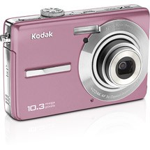 Kodak EasyShare M1063 Pink Digital Camera  10 3MP  3x opt  SD SDHC Card Slot