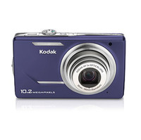 Kodak EasyShare M380 Purple Digital Camera  10 2MP  5x Opt  SD SDHC Card Slot
