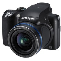 Samsung HZ25W Digital Camera - 24x Zoom 12 5 MegaPixels 3 0 LCD CCD Sensor Black
