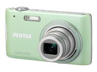 Pentax Optio P80 Green Digital Camera  12 1MP  4x Opt  SD SDHC Card Slot
