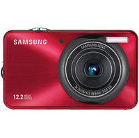 Samsung TL90 Digital Camera- Red  12MP  3X  2 7