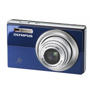 Olympus FE-5010 Blue Digital Camera  12MP  5x Opt  xD-Picture Card Slot