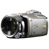 JVC Everio GZ-HM400 32GB Flash Memory HD Camcorder  10x Opt  200x Dig  2 8  LCD