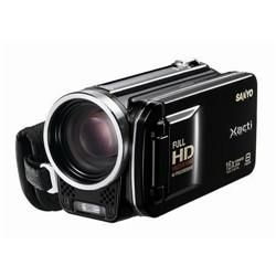 Sanyo VPC-FH1ABK Full 1080p HD Camcorder - Black