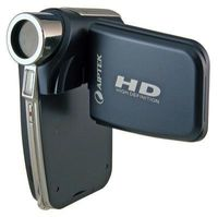 Aiptek Aiptek HD-1 720P High Definition Camcorder with Built-in 1GB Storage  Silver