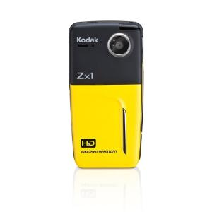 Kodak Zx1 Pocket Video Camera Yellow 1ea
