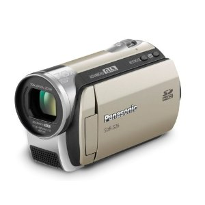 Panasonic SDR-S26N SD Card Standard Definition Gold-tone Camcorder