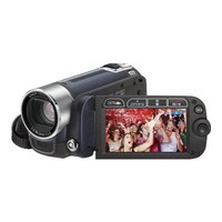 Canon FS200 6 8MP Blue Digital Camcorder