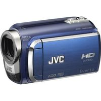 JVC Everio GZ-HD300 SDHC Card HD Camcorder  20x Opt  200x Dig  2 7  LCD