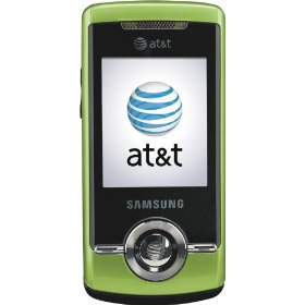 Samsung SGH-a777 Green Cell Phone