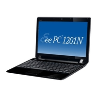 Asus Eee PC 1201N Netbook  1 6GHz Intel Atom 330  2GB DDR2  250GB HDD  Windows 7 Home Premium  12 1  LCD
