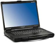 "Panasonic Toughbook 52 Cen Core 2 Duo T7100 1.8GHz/2MBL2/800MHz/1GB/80GB/DVDMulti/56K/abg/GigNIC/15.4""WXGA/XPP (CF-52CCADXBM) PC Notebook"