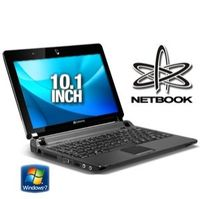 Gateway LT2032u Netbook - Intel Atom N270 1 6GHz 1GB DDR2 250GB HDD 10 1 WSVGA Windows 7 Starter Bla