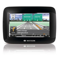 Navigon 7100 GPS Navigation Device - 4 3 Touch Screen Multiple Views Text To Speech 5 Million POI