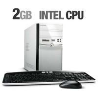 eMachines ET1810-01 Mini-Tower Desktop  1 6GHz Intel Celeron 420  2GB DDR2  160GB HDD  DVD  RW DL  Windows Vista Home Basic
