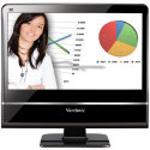 ViewSonic VPC100 Desktop  1 6GHz Intel Atom N270  1GB DDR2  160GB HDD  DVD  RW  Windows XP  18 5  LCD