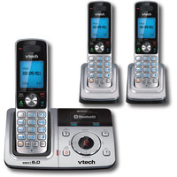 VTech DS6321-3 Silver Cordless Phone  DECT 6 0  Answering Mechine  Caller ID