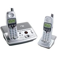 AT&T E2725B Cordless Phone  2 4GHz  Digital Answering Machine  Caller ID  Speakerphone