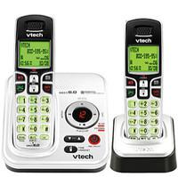 VTech CS6229-5 Silver Cordless Phone  1 9GHz  DECT  Caller ID