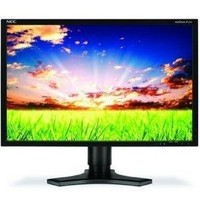 NEC MultiSync P221W-BK-SV XM3-22W Black 22  Widescreen LCD Monitor  1680x1050  8ms  DVI